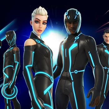 The World Of Tron Has Joined Fortnite With New Cosmetics