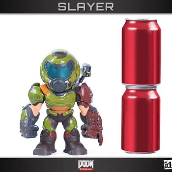Doom Slayer In-Game Collectible Comes to Life With Gaming Heads
