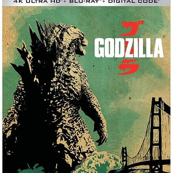 Godzilla 2014 Comes To 4K Blu-ray March 23rd