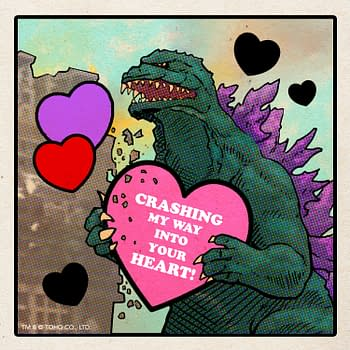 Tell Them You Love Them With A Godzilla Valentines Day Card