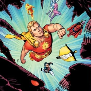 The cover to Heroes Reborn: Hyperion & the Imperial Guard #1.