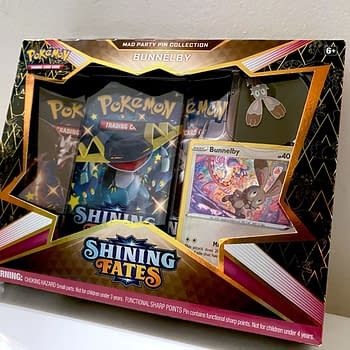 Pokémon TCG Shining Fates Product Review: Mad Party Pin Collection