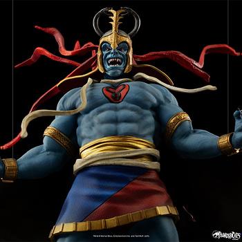 Thundercats Villain Mumm-Ra Statue Up For Order From Iron Studios