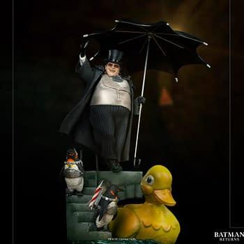 Batman Returns The Penguin Gets His Own Iron Studios Statue