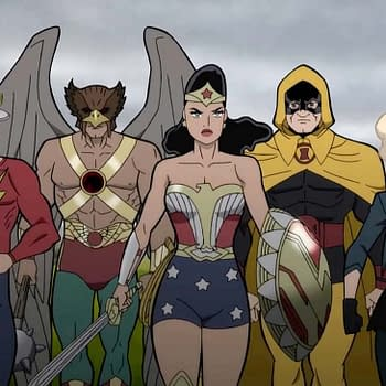 Warner Bros. Animation Releases First Look at Justice Society: WWII
