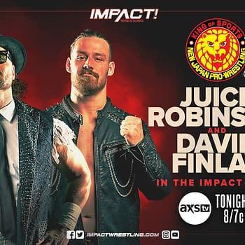 NJPW Stars X-Division Title Match Set for Impact Wrestling Tonight