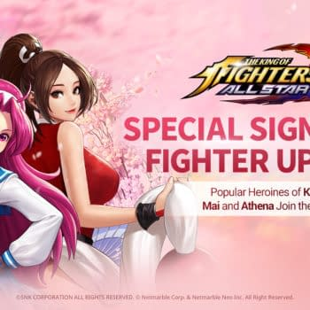 Mia & Athena Jump Into The King Of Fighters AllStar