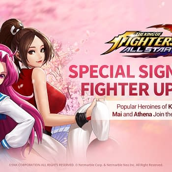 Mia &#038 Athena Jump Into The King Of Fighters AllStar