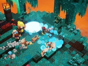 MInecraft Dungeons Flames of the Nether-
