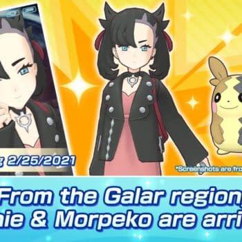 Marnie, Morpeko, Leon, & Charizard Feature in Pokémon Masters EX