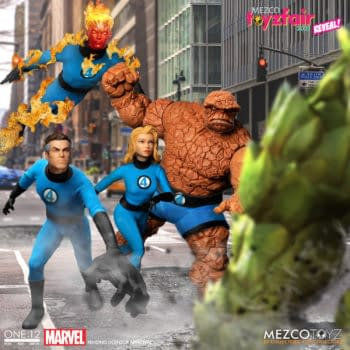 Fantastic Four, Wolverine, and Spider-Gwen Figures Unveiled by Mezco