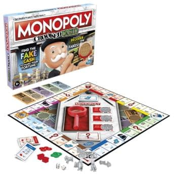 Hasbro Introduces Crooked Cash & Builder Versions Of Monopoly