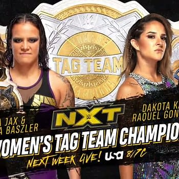 NXT Next Week: WWE Womens Tag Team Titles Will Be On The Line