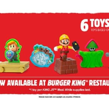Nintendo Brings Kids Toys Back To Burger King With A Sweepstakes