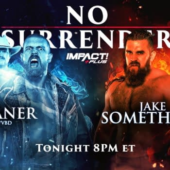 Impact No Surrender Match Graphic for Deaner vs. Jake Something in a Cousin vs. Cousin match
