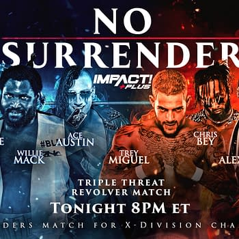No Surrender Results &#8211 Who Won the Triple Threat Revolver Match