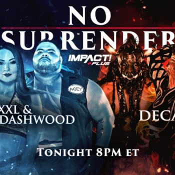 Impact No Surrender Match Graphic for XXXL and Tenille Dashwood vs. Decay