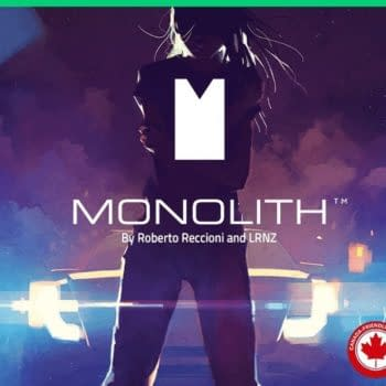 Monolith: A Graphic Novel Kickstarter from Magnetic Press