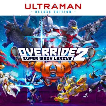 Ultraman's Bemular Joins Override 2: Super Mech League