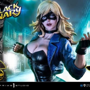 Black Canary Sings Her Song With New Prime 1 Studio Statue