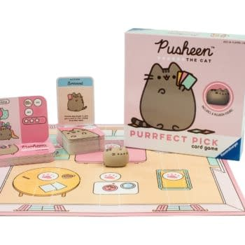 Ravensburger Has Launched The Pusheen Purrfect Pick Card Game