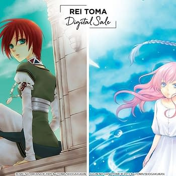 Viz Discounts Rei Tomas Manga Series Ahead of Her New Series