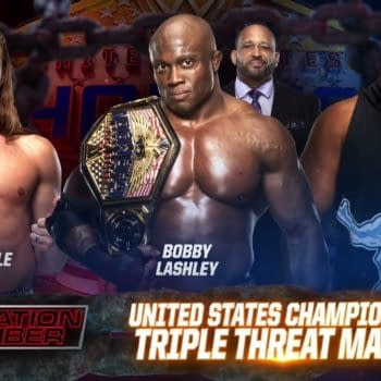 """Bobby Lashley is set to defend his United States Championship at Elimination Chamber against Keith Lee and """"Riddle"""""""
