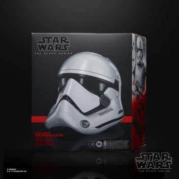 Star Wars First Order Trooper Gets Replica Helmet From Hasbro