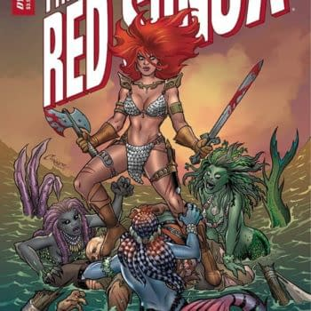Amanda Conner and Jimmy Palmiotti LaunchInvincible Red Sonja
