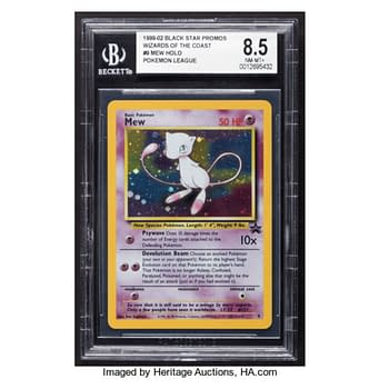 Catch the Mythical Pokémon Mew By Bidding For This Vintage Card