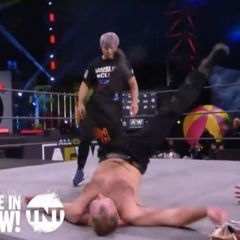 KENTA appeared on AEW Dynamite to attack Jon Moxley ahead of their match at NJPW New Beginning USA on February 26th, potentially kicking off an AEW/NJPW crossover