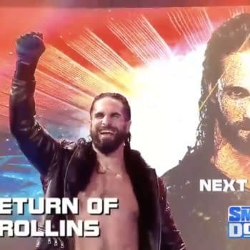 WWE announced the return of Seth Rollins on Smackdown next week