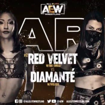 Red Velvet will face Diamante on AEW Dark this week