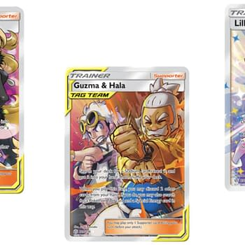 The Full Art Trainer Cards Of Pokémon TCG: Cosmic Eclipse Part 1