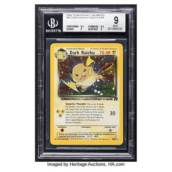 The First Ever Secret Rare Pokémon Card Hits Auction