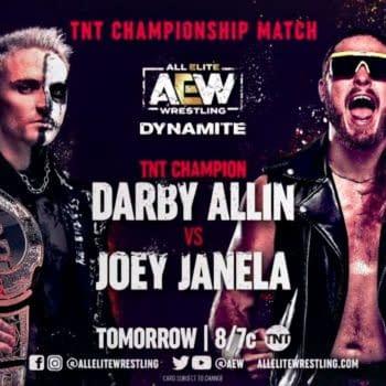 Darby Allin defends the TNT Championship against Joe Janella on Dynamite tonight