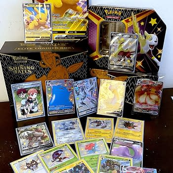 Pokémon TCG Shining Fates Product Review: Elite Trainer Box
