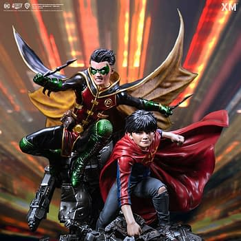 DC Comics Super Sons Save the Day With XM Studios