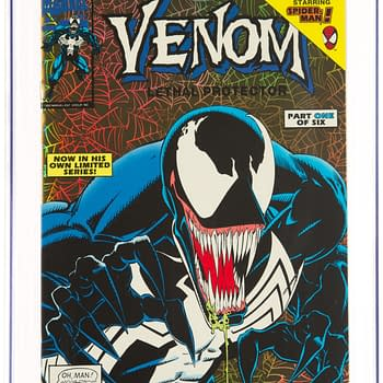 Venom Lethal Protector #1 Rare Gold CGC 9.8 On Auction At Heritage