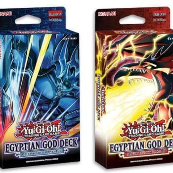 Yu-Gi-Oh! TCG Reveals Two New Egyptian God Decks