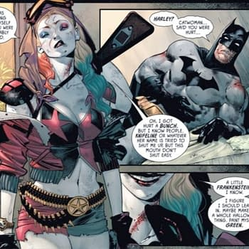 DC Comics To Launch Harley Quinn And Batman #1 &#8211 With Poison Ivy