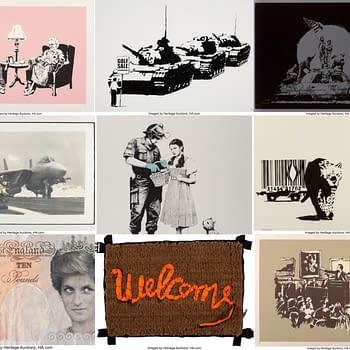 Last Two Hours Of Banksy Prints Lithos and Items At Auction