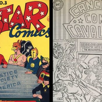 All-Star Comics #3 and Cancelled Comic Cavalcade #2 from upcoming ComicConnect auctions.