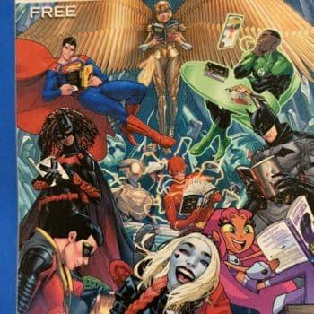 Superman Laughs At Watchmen, Harley Quinn Giggles At The Three Jokers
