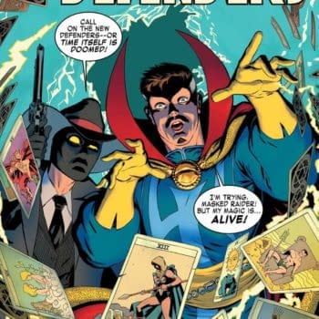 Marvel's Defenders Comic With Masked Raider – This Al Ewing's Doing?