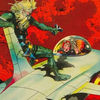 Famous Funnies #214, Frank Frazetta cover, 1954.