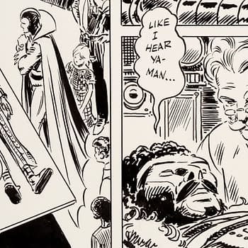 Original Art for Frank Thornes Weirdest Comic Up for Auction
