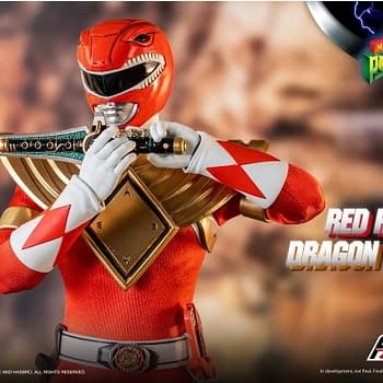 Power Rangers Dragon Shield Red Ranger Arrives From Threezero