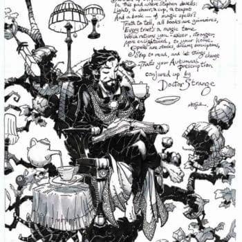 Neil Gaiman, Chris Bachalo Doctor Strange Poem For Hero Initiative