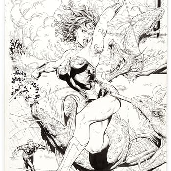 Gary Frank Original Artwork From Hulk to Doomsday Clock For Auction